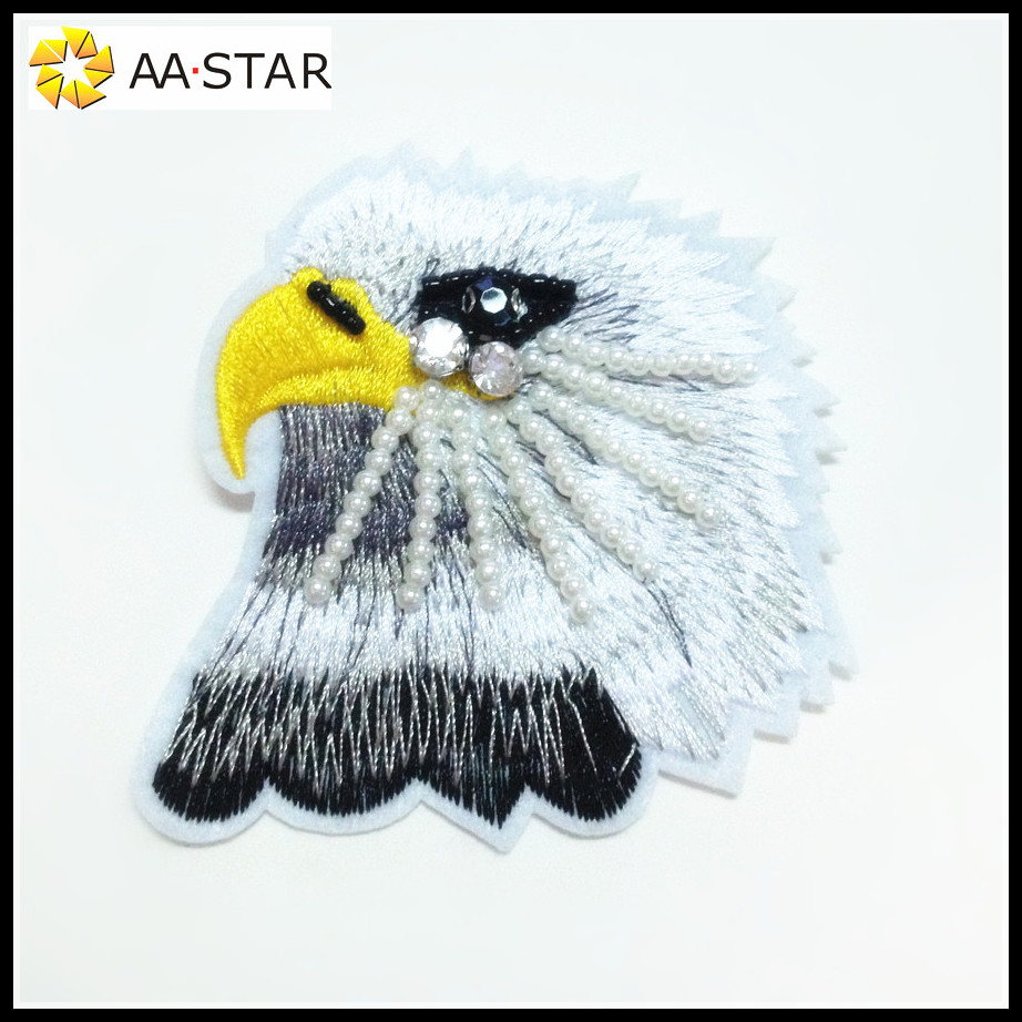 new hand work design bird pattern applique work designs