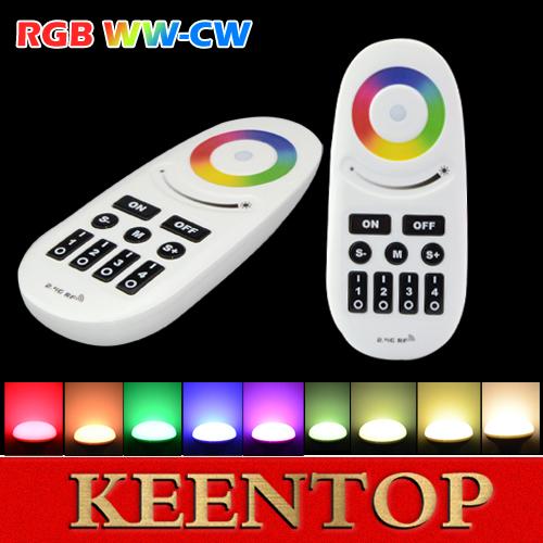 Mi Licht Drahtlose 2.4G 4-Zone RGB Touch Tone Fernbedienung für LED Streifen 99