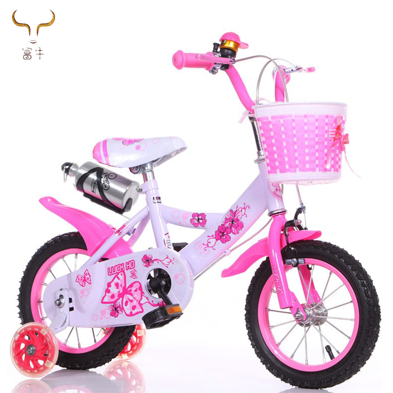 Girls Pink Price Children Bicycle for 8 years old child Parts , Wholesale Used 14 inch Children Bicycle, Kids Bicycles Factory