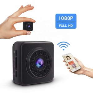wireless portable mini hidden camera wifi D102 model home security spy wifi camera with 8 meters night vision