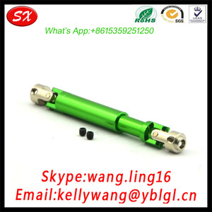 Small Universal Flexible Aluminum Joint Shaft,Anodized Green Color Shaft