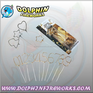 high quality various shape party city sparklers