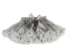 Girl tutu skirt Girls FIrst birthday Outfit baby tutu gray super tutus tutu skirts for girls