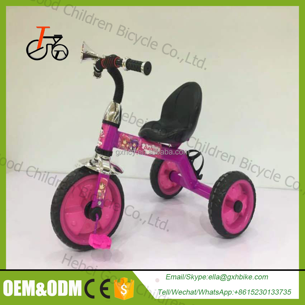 Cheap baby tricycle / kids tricyle with back seat / tricycle kids