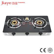 glass body gas stove,household gas stove,gas cooker JY-TG3006