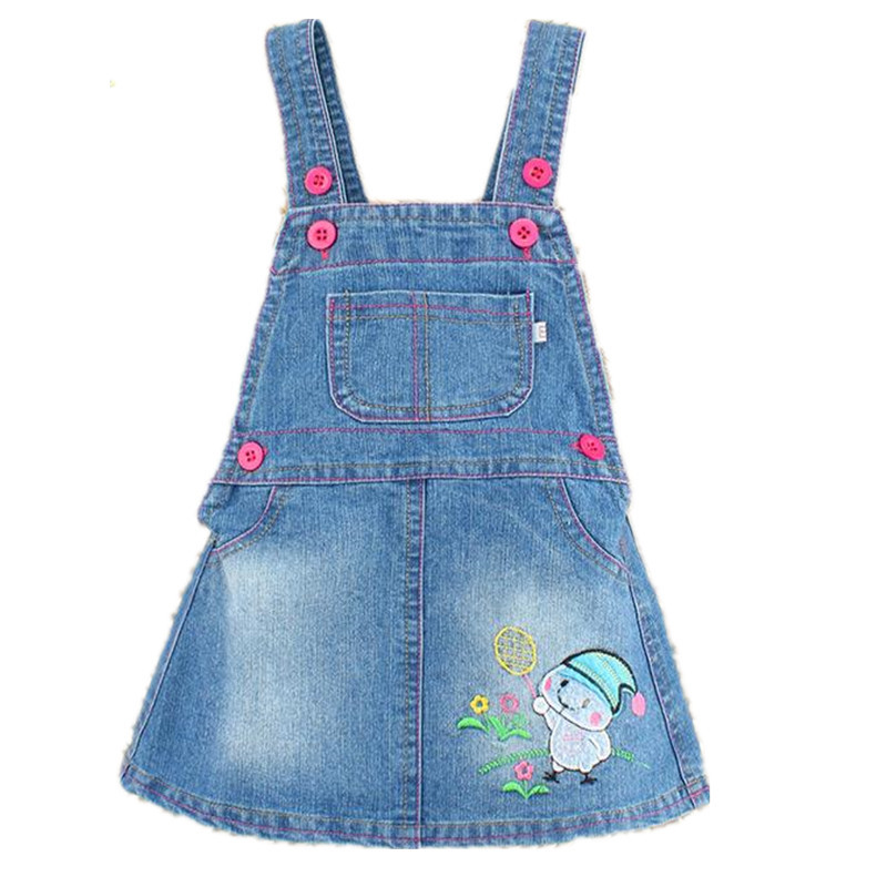1523baff9 Get Quotations · 2015 Summer Baby Girl Dresses denim dresses for Girls  overalls dress child toddler girl dress infant