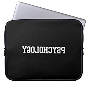"Funny Laptop Sleeve Cover 13 13.3-13.8 Inch Reverse Psychology Computer Cases Protective Bag for Macbook Air 13"" Macbook Pro 13.3"" Sleeve Ultrabook Notebook Carrying Case"
