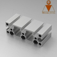 structural aluminum profiles extrusion aluminum alloy frame material and door & window frames