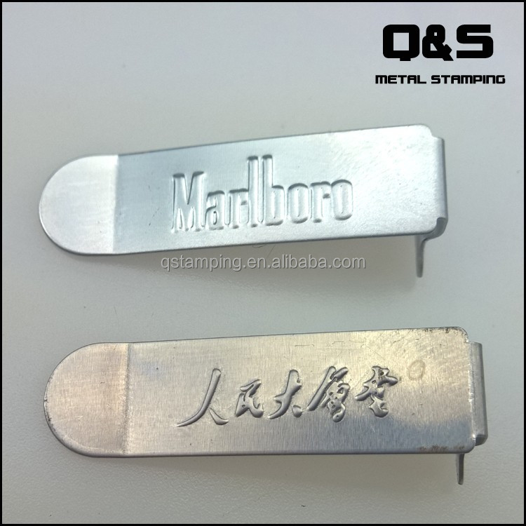 Stamping convex type text,logo press on metal plate sheet,Metal Stamped Parts