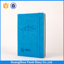 Cheap custom note book with logo emboss