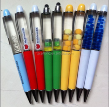 Gift Pen CH-6708 Liquid Floating Ball Point Pen with PVC Floater Custom