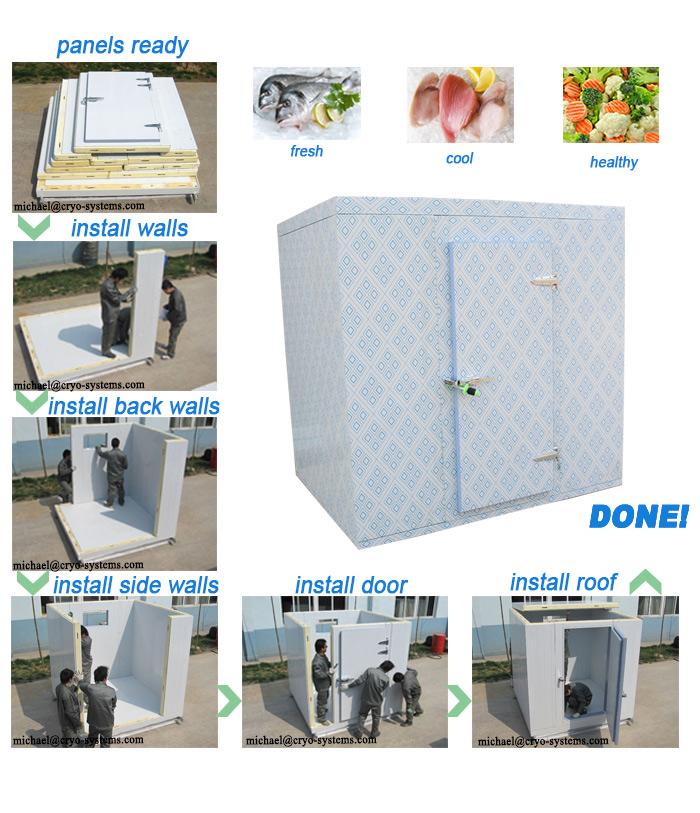chambre froide de mat riaux de construction utilis s panneau de chambre froide r frig rateur. Black Bedroom Furniture Sets. Home Design Ideas