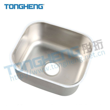 Custom Size High Grade SUS304 1.2MM Small Commercial Hotel Kitchen  Stainless Steel Sink