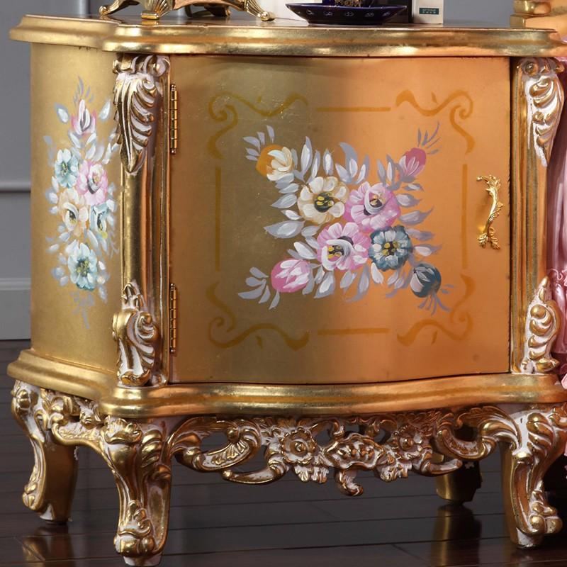 Muebles italianos muebles mesita de noche dormitorio de estilo ...