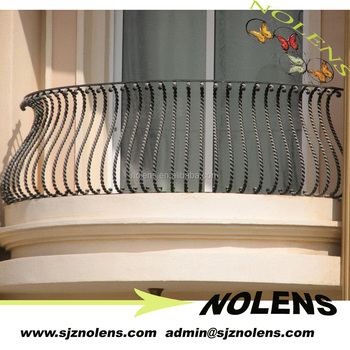 China Suppliers New Products Luxury Iron Morden Balcony Railing ...