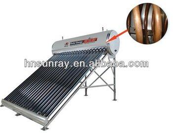 Kompakte Kupferspirale Drucklose Solar-warmwasser-heizung Mit ...