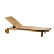 Outdoor burma teak wood sun lounger for beach furniture