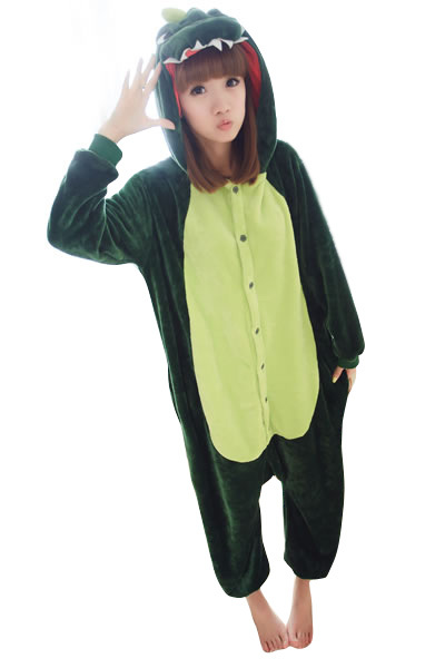 Get Quotations · Winter Adults Kid Flannel Animal Dinosaur Cartoon Jumpsuit  2015 Party Cosplay Pajamas Onesies  da4b4bce2