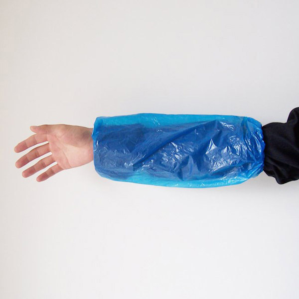 Wholesale disposable LDPE sleeve covers for medical/food with high quality