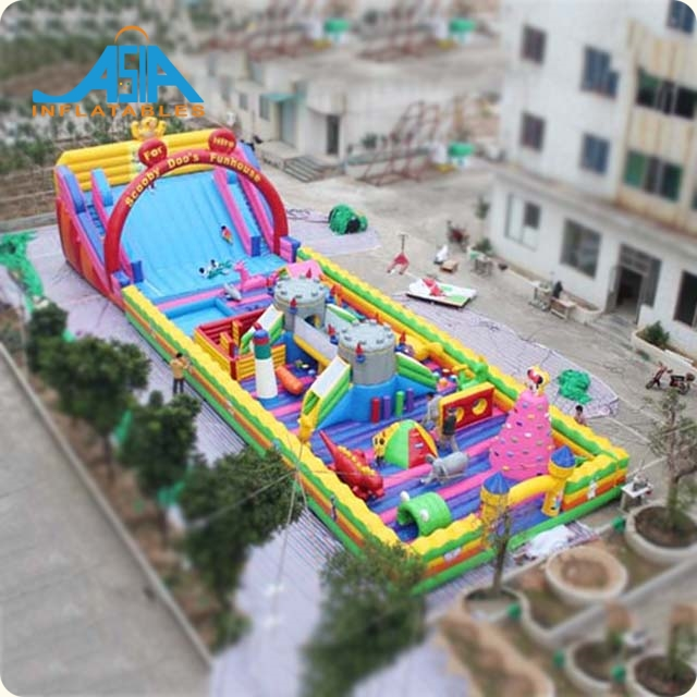 Inflatable Adult Bounce House / Inflatable bounce house slide combo