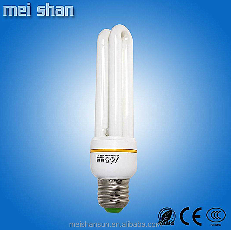 The lowest price performance u shape cfl bulb parts