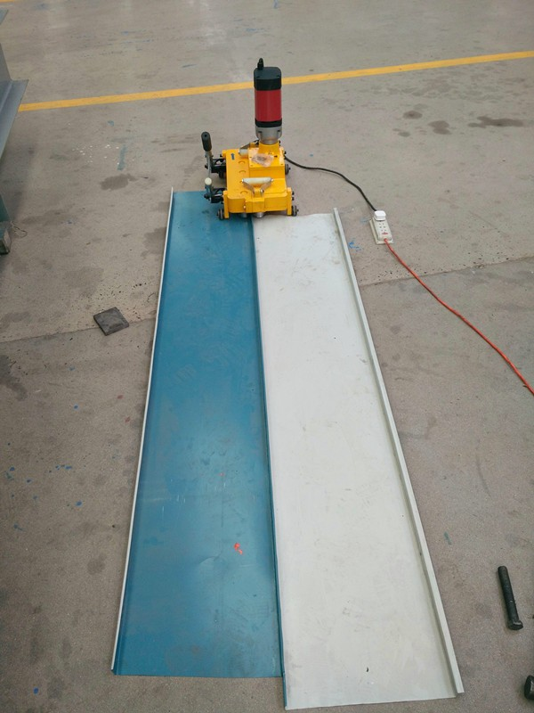 Mobile Clip Lock Standing Seam Roof Roll Former Buy Clip