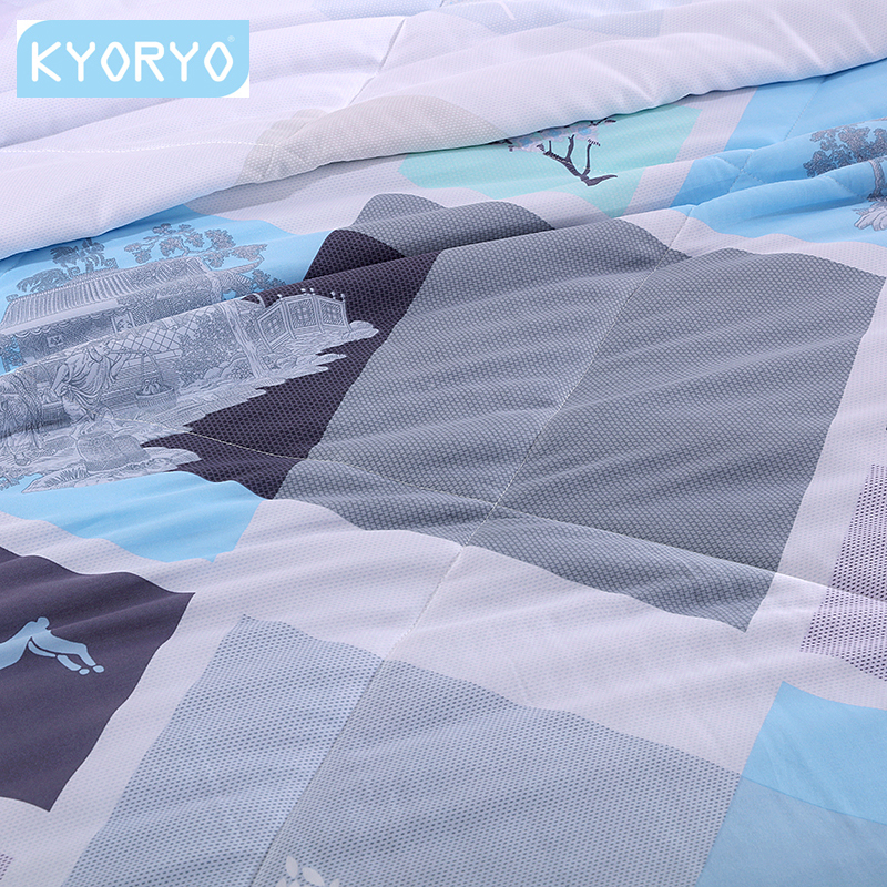 Kyoryo 100% modal cool silk summer blanket/thin duvet for summer