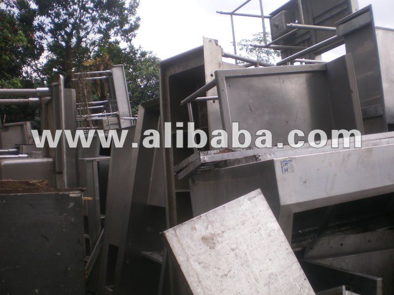 Stainless steel scrap of Kitchen and Restaurant Equipment