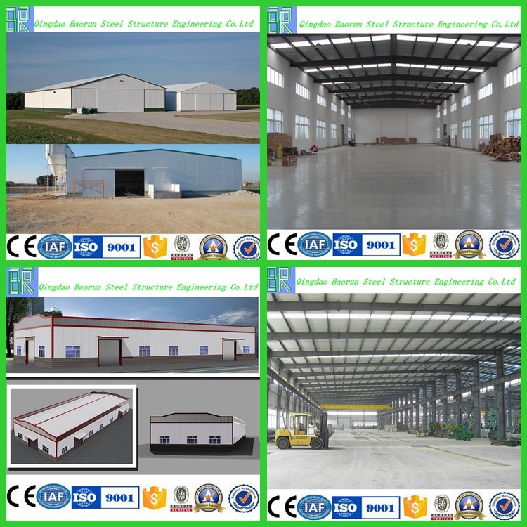 Prefab Steel Structure Cattle Farm Cow Shed Building