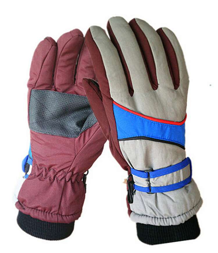 Get Quotations · best quality Man women brand Ski Gloves Snowboard Gloves  Snowmobile motocross Riding Mountaineering thick Waterproof Snow a10dec00a