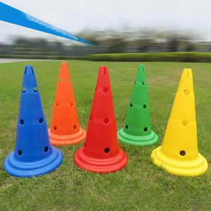 Outdoor gaming and festive events traffic safe slalom soccer marker cones