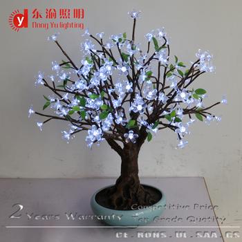 Indoor Outdoor Artificial Bonsai Tree Christmas Decoration Mini Led Lights