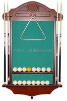 HB high-grade solid wood customize billiard pool cue rack