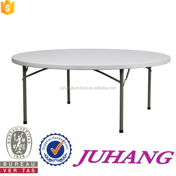 Portable For Sale Fold In Half Round Cheap Plastic Round Tables