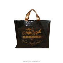 fashion printed eco-friendly designer foldable water proof shopping plastic bags with handle