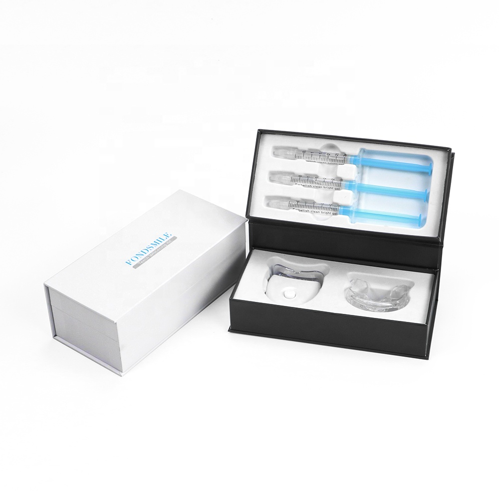 New Patented Wireless Recharge Teeth Whitening LED Light Home Kit