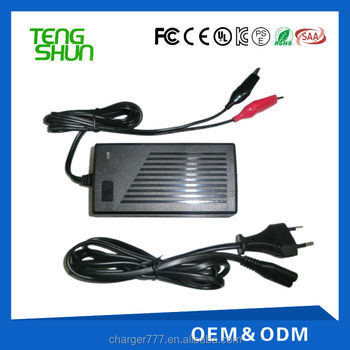 hot selling portable 12v 24v automatic lead acid battery charger 12v 4a 24v 2a