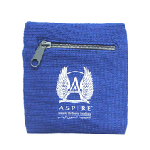 Custom sweatband 와 zipper pocket