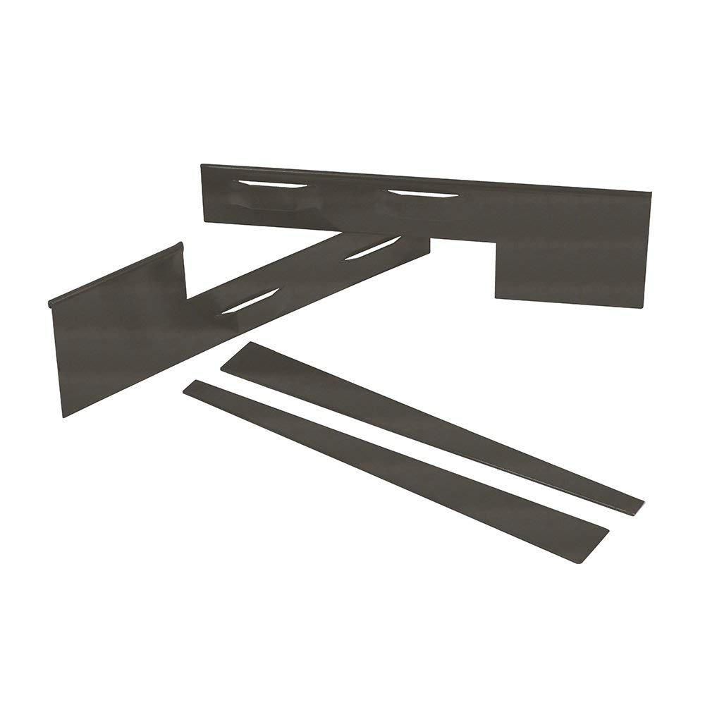 Coyote Landscape Products 636014 RawEdge Edging, 16 Gauge, Raw Steel