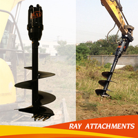 earth auger auger drilling machine for tractor