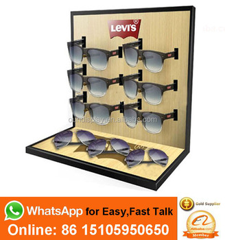 b28567e28b customized sunglasses frame display men sport wooden sunglasses display rack