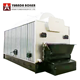 Factory price DZL 10 ton packaged automatic coal fired chain grate stoker steam boiler