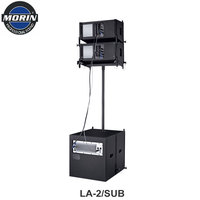 Digital Active Line Array Tower Speaker LA-2/SUB