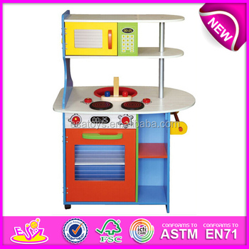 Happy play fun wooden kitchen toy,wooden toy kitchen set toy for ...