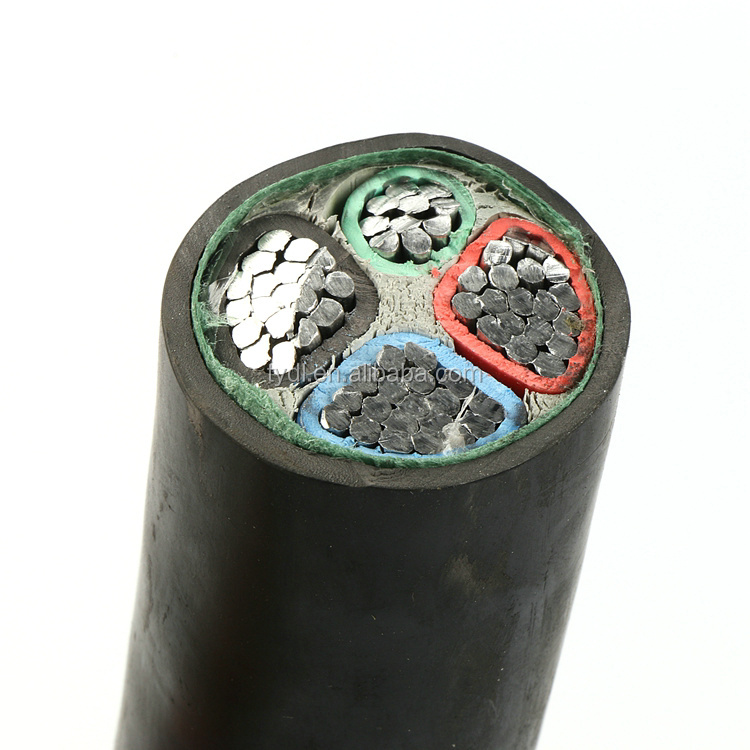 China wholesale VDE approved Rubber Cable PVC insulation CU/AI power cable with factory price