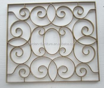 Zuhause Wanddekor Rolleentwurf Ornamentalen Moderne Fenstergitter