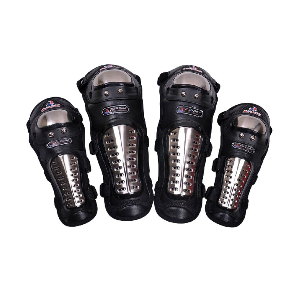 Professional Knee/Shin Elbow/Forearm Guard Set for Racing Motocross Motocycle