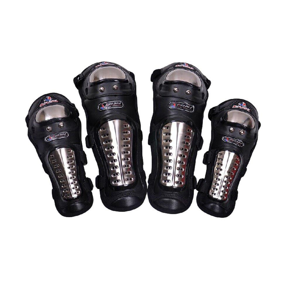 Professional Knee/Shin Elbow/Forearm Guard Set for Racing Motocross Motocycle