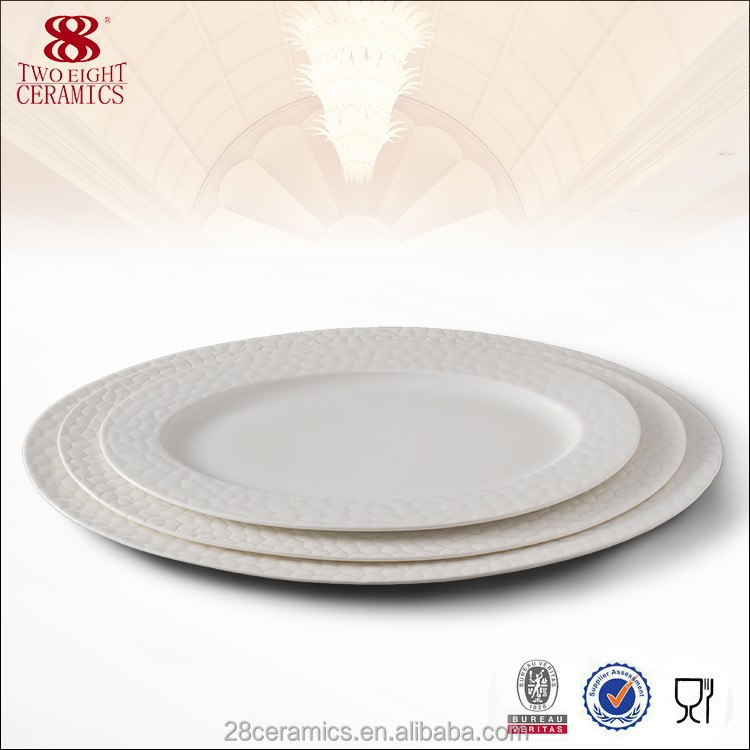 factory direct wholesale serving platter, porcelain dinner set, bone china oval plate