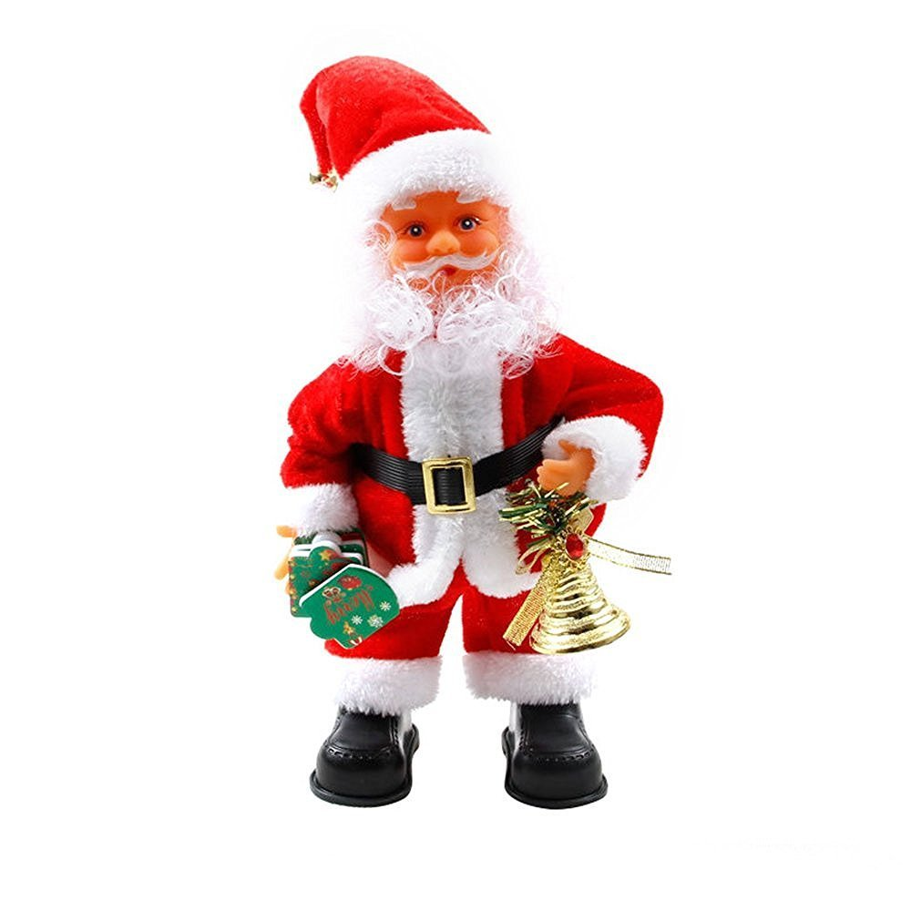 get quotations caij christmas santa claus toys twisted hip singing electric toys xmas decorations - Singing Christmas Toys